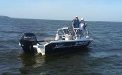 Мотолодка NorthSilver Pro 520 Fish с мотором Mercury F80ELPT EFI