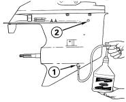 ТО двухтактного двигателя (до 5 л.с)