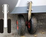 Транцевые колеса BHW-2