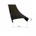 Лента PVC П-образная 27 мм
